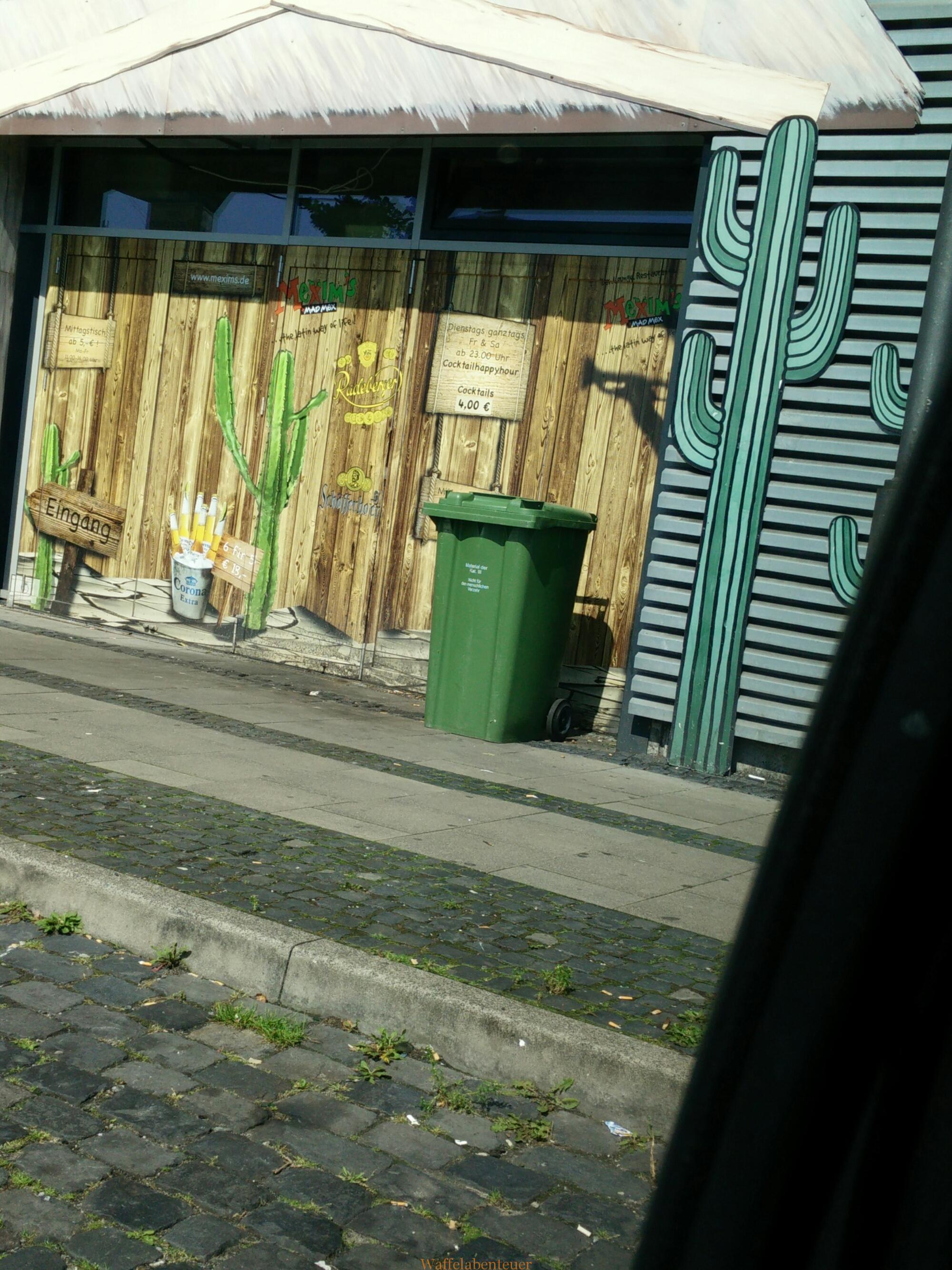 Spontane Gedanken – Mülltonne
